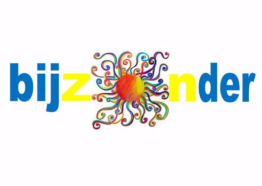 Felicitatiekaarten - Felicitatie BijZONder Wit - AW