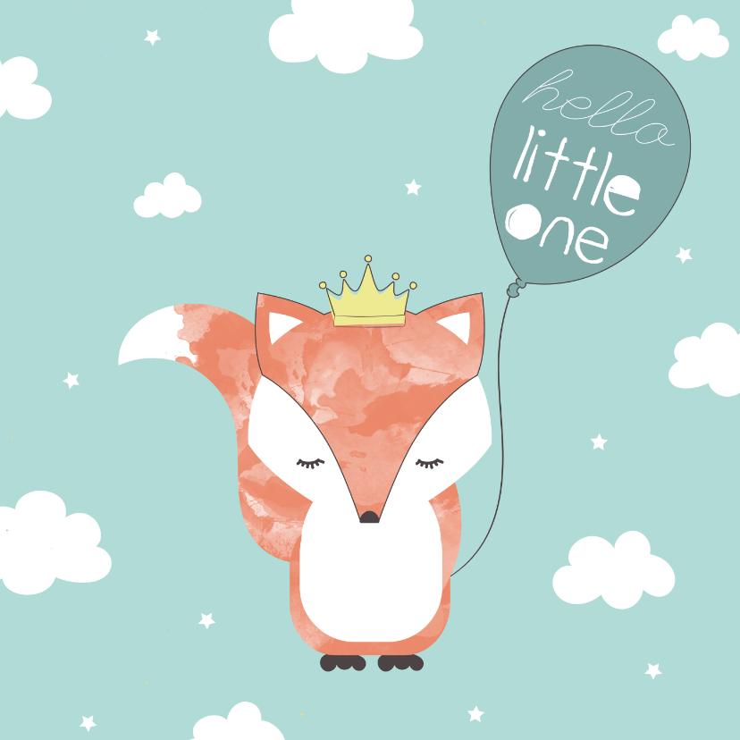 Felicitatiekaarten - Felicitatie geboorte Jongen - Hello Little One