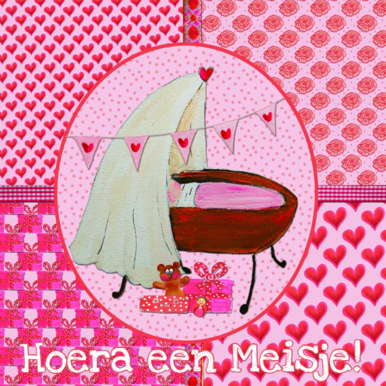 Felicitatiekaarten - Felicitatie Geboorte Meisje PA
