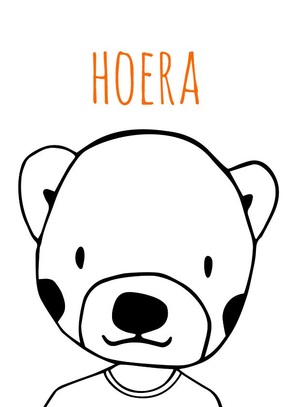 Felicitatiekaarten - felicitatie-hoera-kk