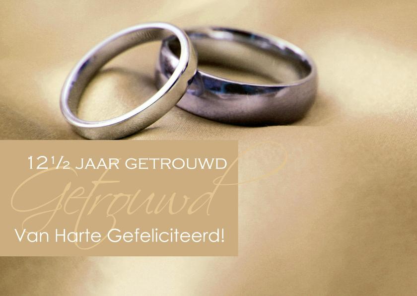 Felicitatiekaarten - Felicitatie koperen huwelijk