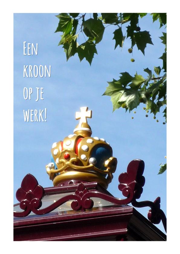 Felicitatiekaarten - Felicitatie Kroonjuweel