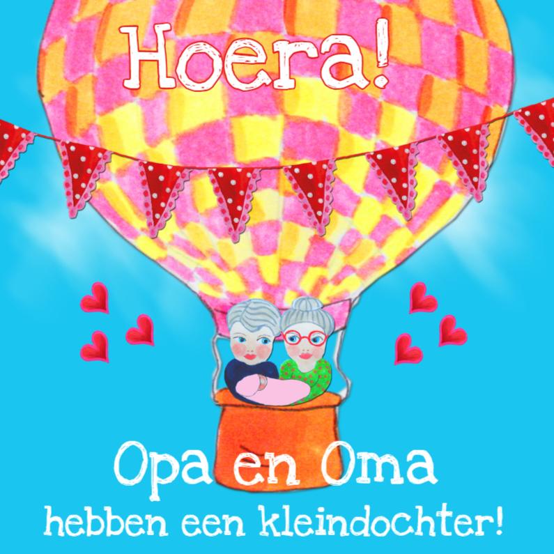 Felicitatiekaarten - Felicitatie Opa en Oma m PA