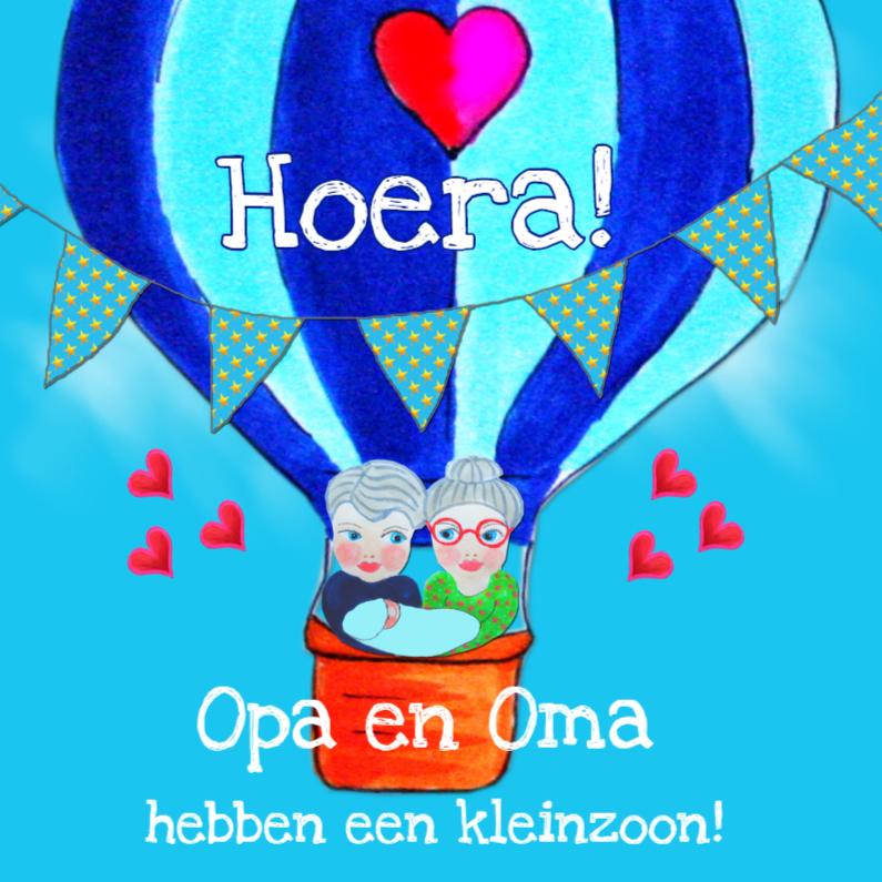 Felicitatiekaarten - Felicitatie Opa en Oma PA