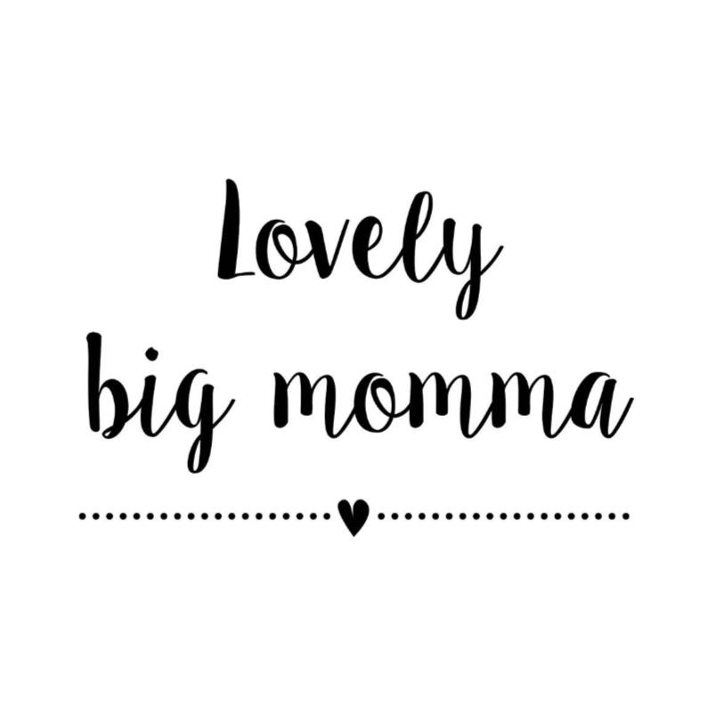 Felicitatiekaarten - Felicitatiekaart Big momma