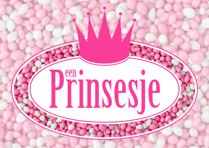 Felicitatiekaarten - Felicitatiekaart Een Prinsjesje