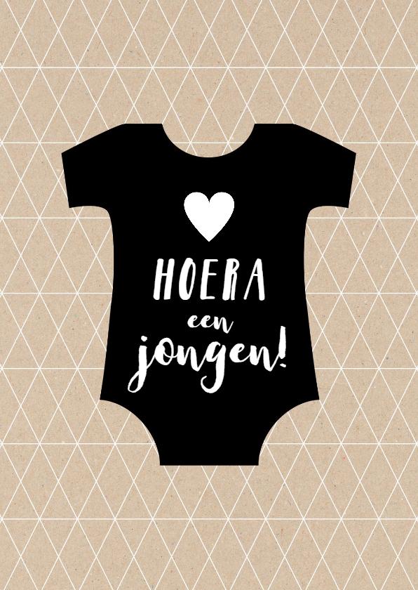 Felicitatiekaarten - Felicitatiekaart geboorte zoontje