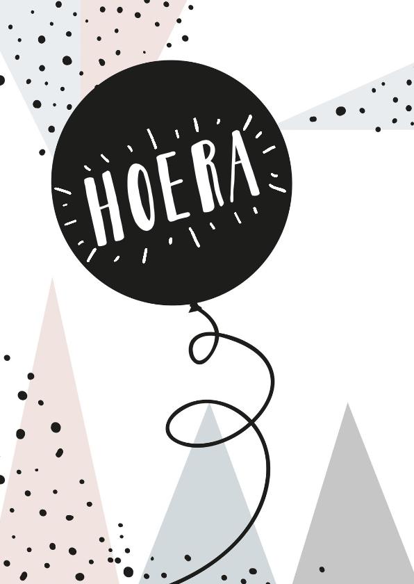 Felicitatiekaarten - Felicitatiekaart Hoera hipperdestip