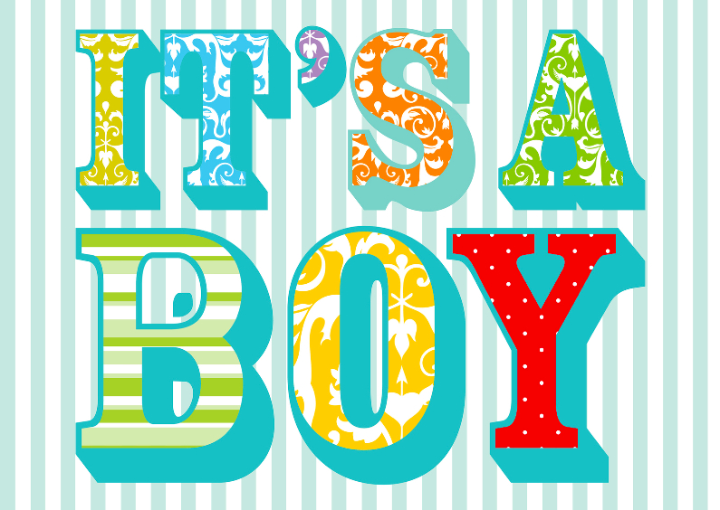 Felicitatiekaarten - Felicitatiekaart Its A boy