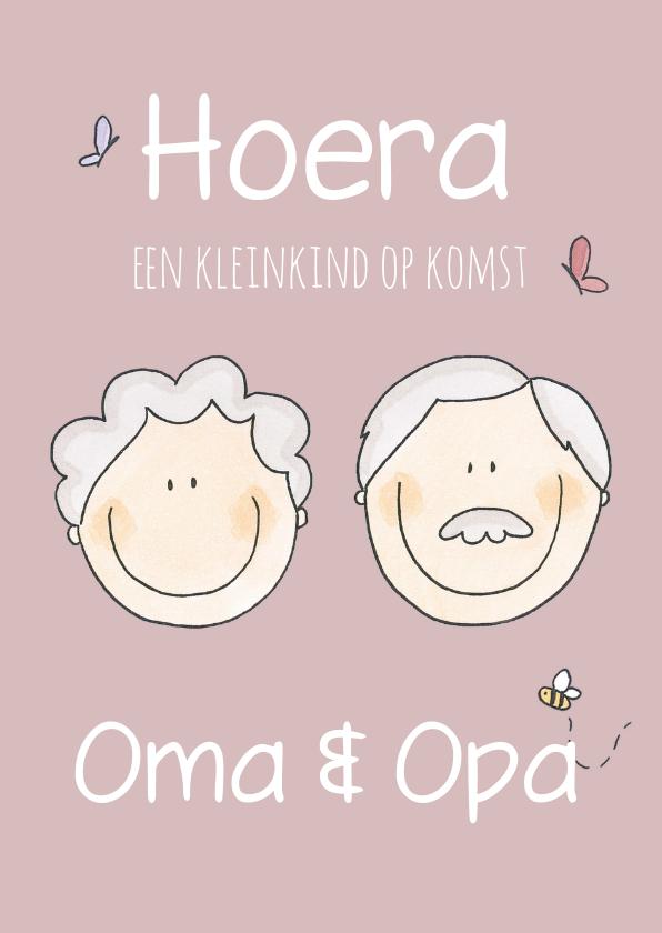 Felicitatiekaarten - Felicitatiekaart Opa en Oma LFZ
