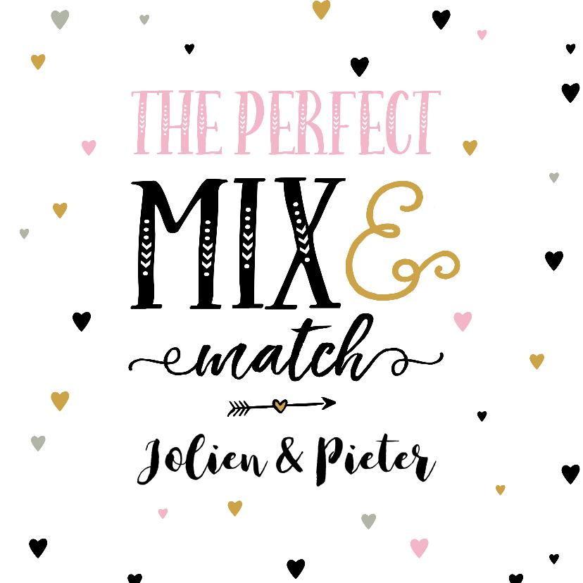 Felicitatiekaarten - Felicitatiekaart perfect mix
