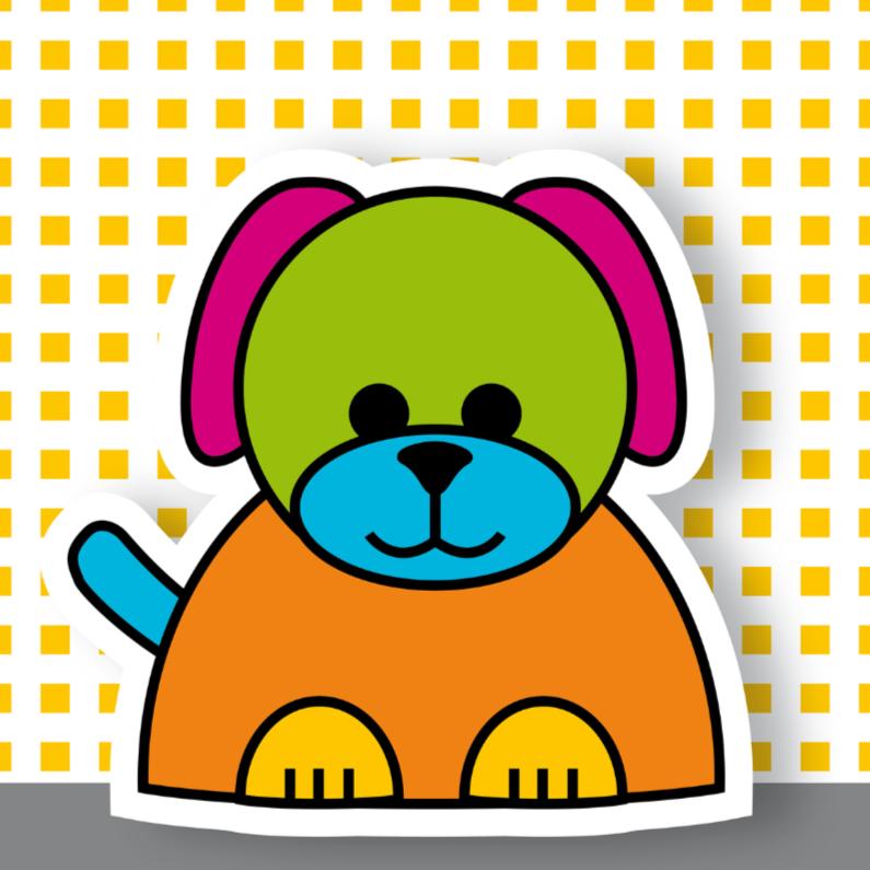Felicitatiekaarten - geboorte hond 03
