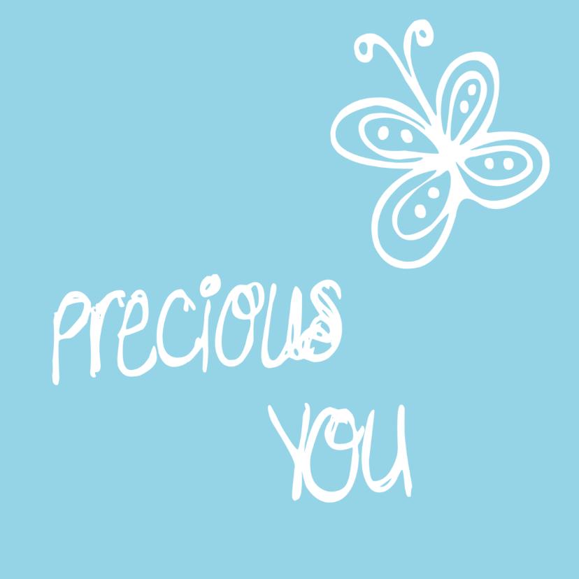 Felicitatiekaarten - Geboorte - Precious you..