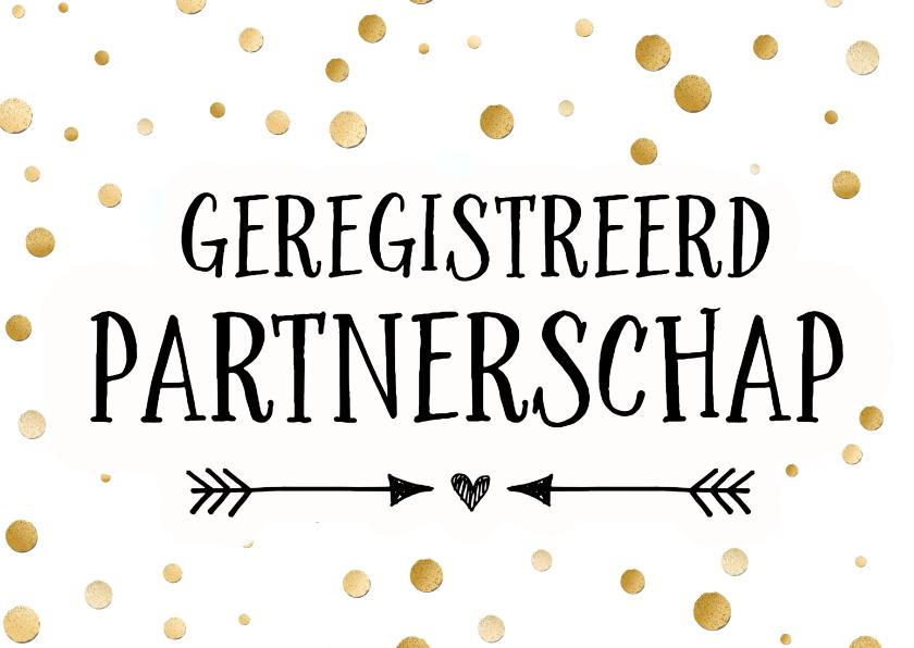 geregistreerd partnerschap kaart