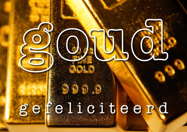 Goud Gefeliciteerd 1