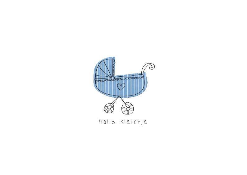 Felicitatiekaarten - Hallo Kleintje Zoon - JD
