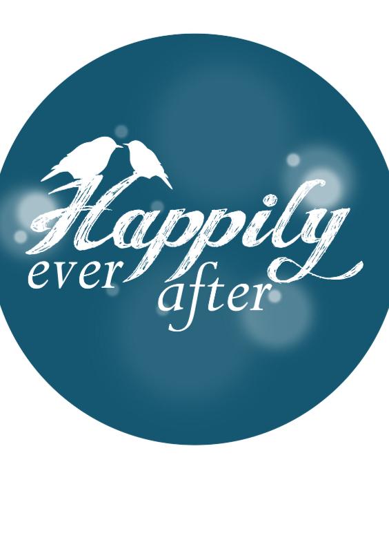Felicitatiekaarten - Happily ever after felicitatie