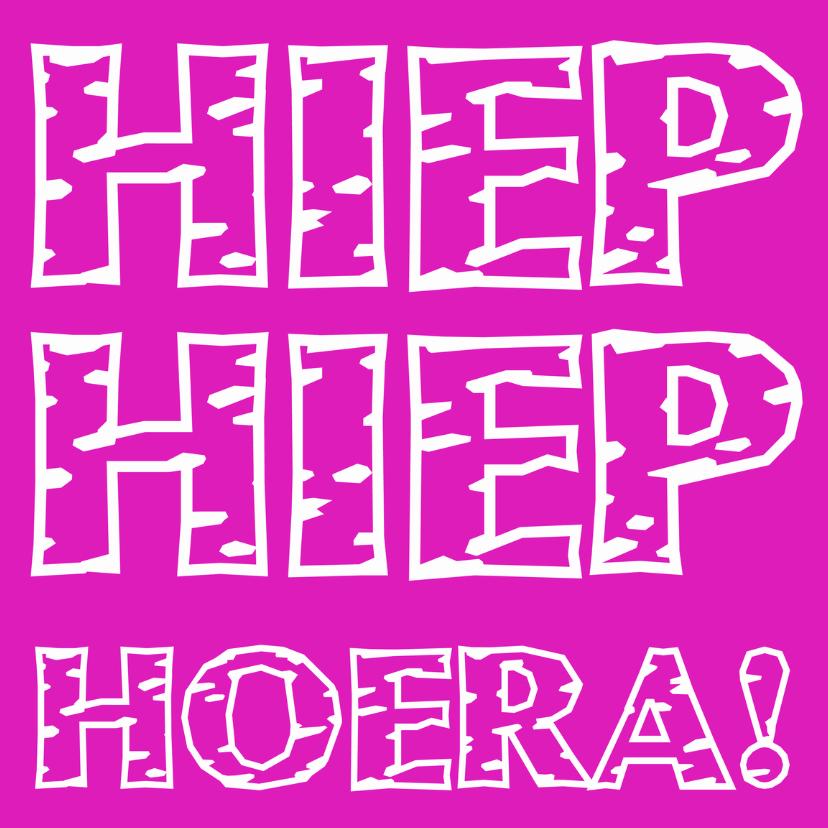 Felicitatiekaarten - Hoera I