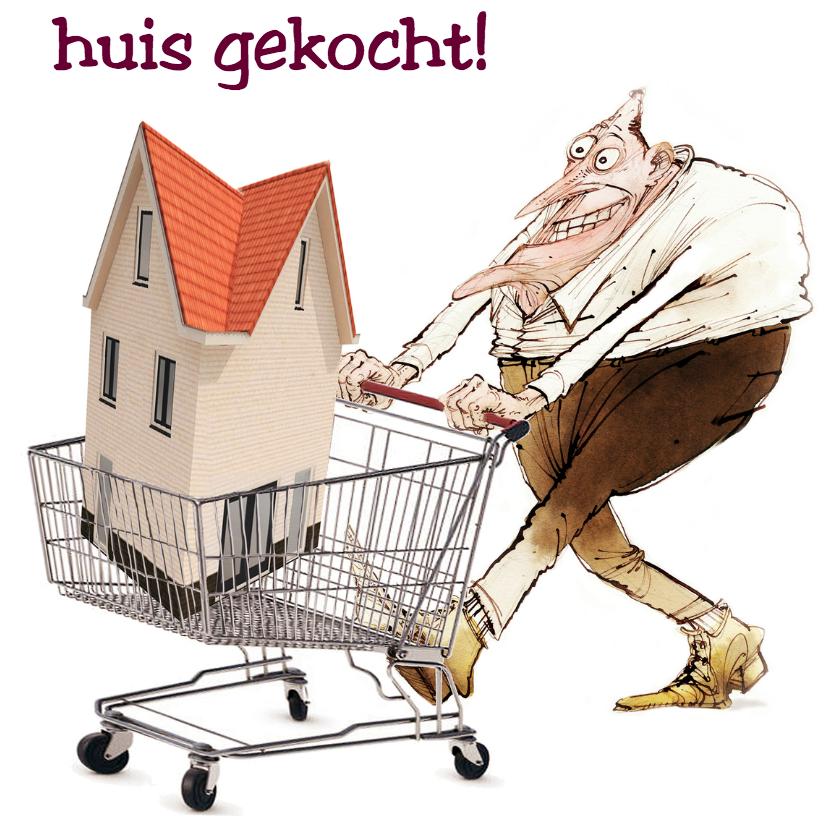 Felicitatiekaarten - huis gekocht