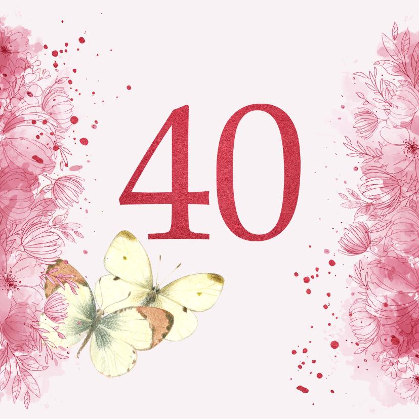 Felicitatiekaarten - Huwelijks jubileum - 40 jaar getrouwd