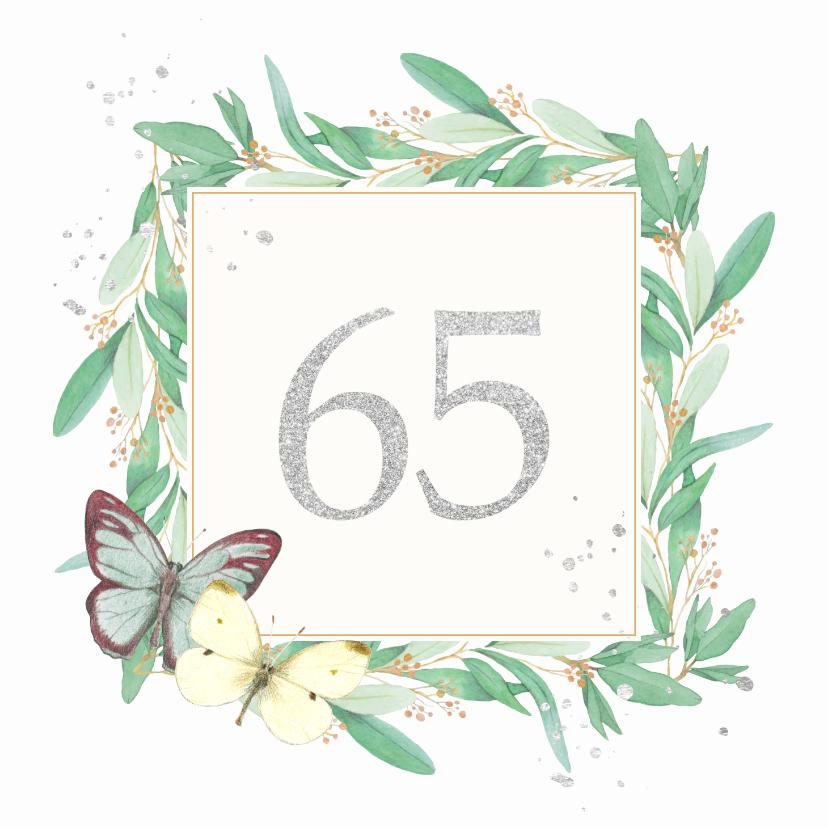 Felicitatiekaarten - Huwelijksjubileum - 65 jaar getrouwd