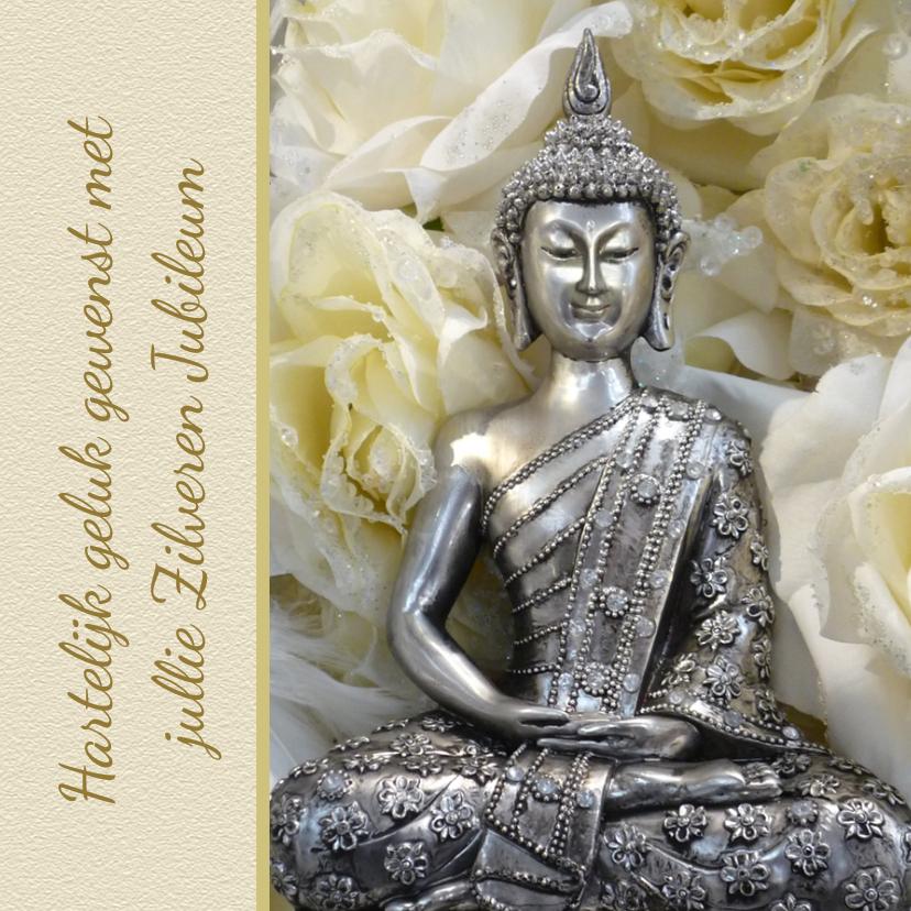 Felicitatiekaarten - Jubileum Boeddha Felicitatie