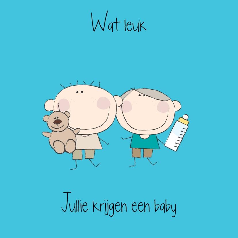 Felicitatiekaarten - Jullie krijgen een baby