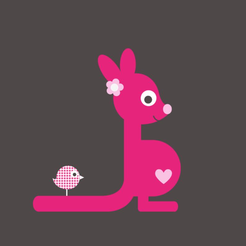 Felicitatiekaarten - Kangoeroe