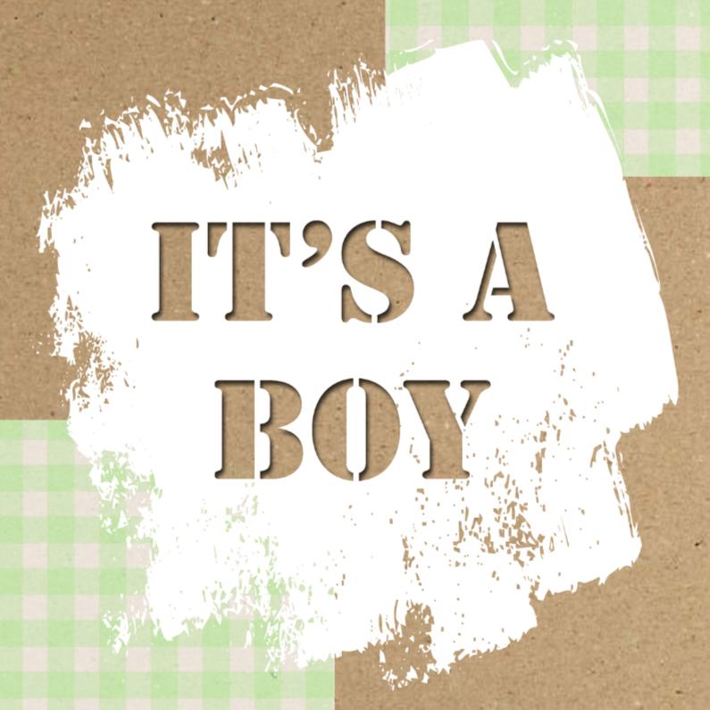 Felicitatiekaarten - made4you-boy