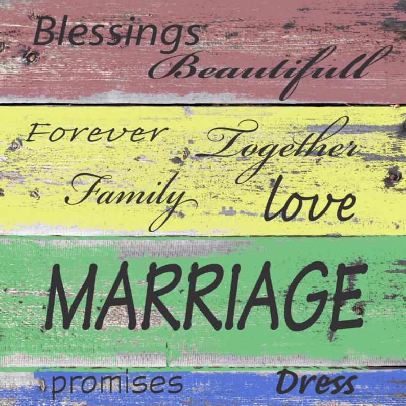 Felicitatiekaarten - made4you-huwelijk