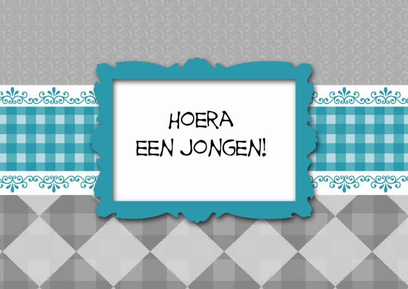 Felicitatiekaarten - made4you-jochie
