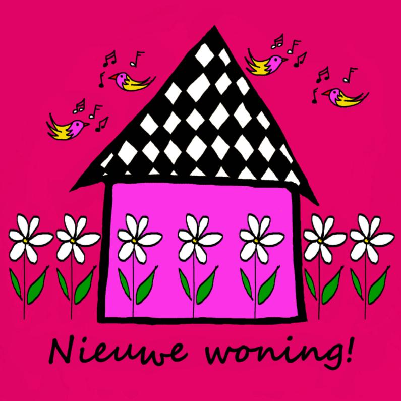 Felicitatiekaarten - Nieuwe woning CYL