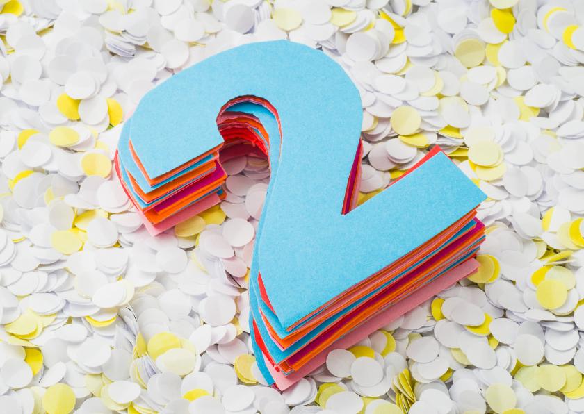 Papieren bruiloft - twee jaar getrouwd 1