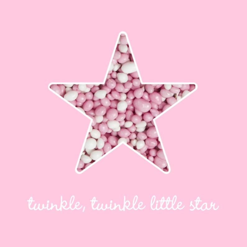 Felicitatiekaarten - Pink Twinkle