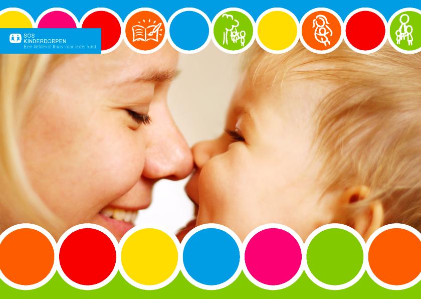 Felicitatiekaarten - SOS kinderdorpen felicitaie kader
