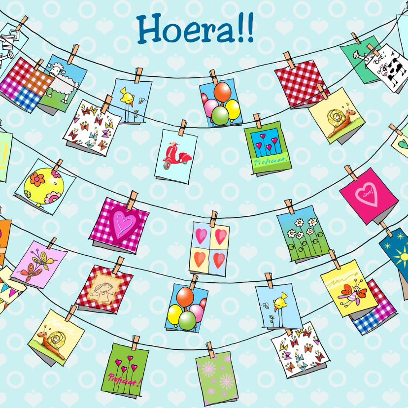 Felicitatiekaarten - vele kaarten