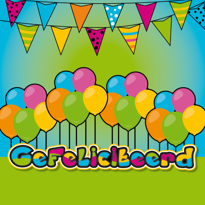 Felicitatiekaarten - vrolijk gefeliciteerd 06