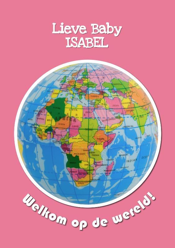 Felicitatiekaarten - Welkom op de wereld - Meisje - OT