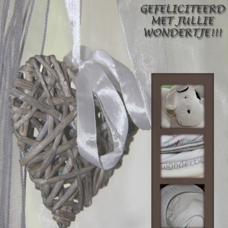 Felicitatiekaarten - wondertje-made4you