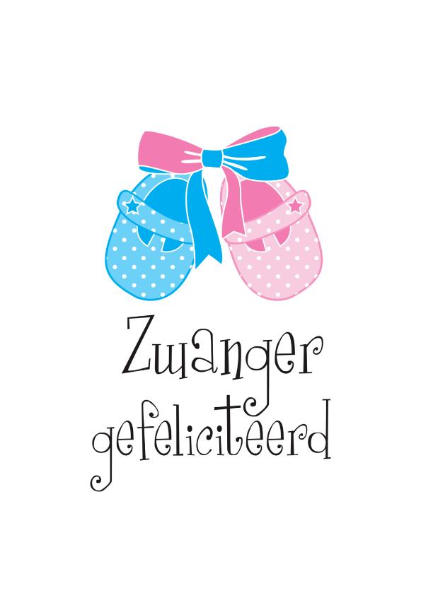 Felicitatiekaarten - Zwanger gefeliciteerd WK01