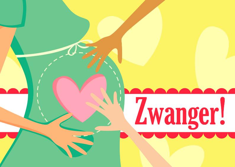 Felicitatiekaarten - Zwanger-LH
