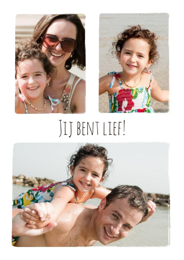 Fotokaarten - Collage Jij bent Lief! - BK