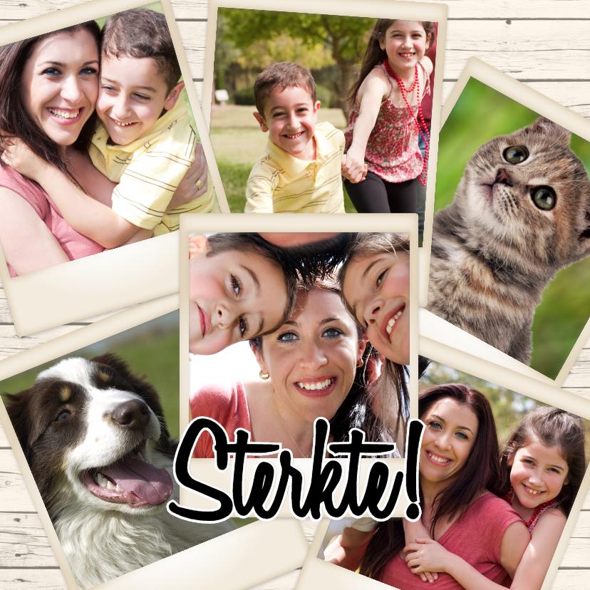 Fotokaarten - Collage Sterkte - BK