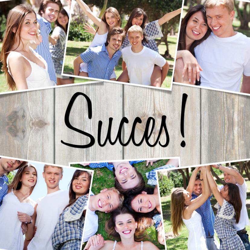 Fotokaarten - Collage Succes! - BK