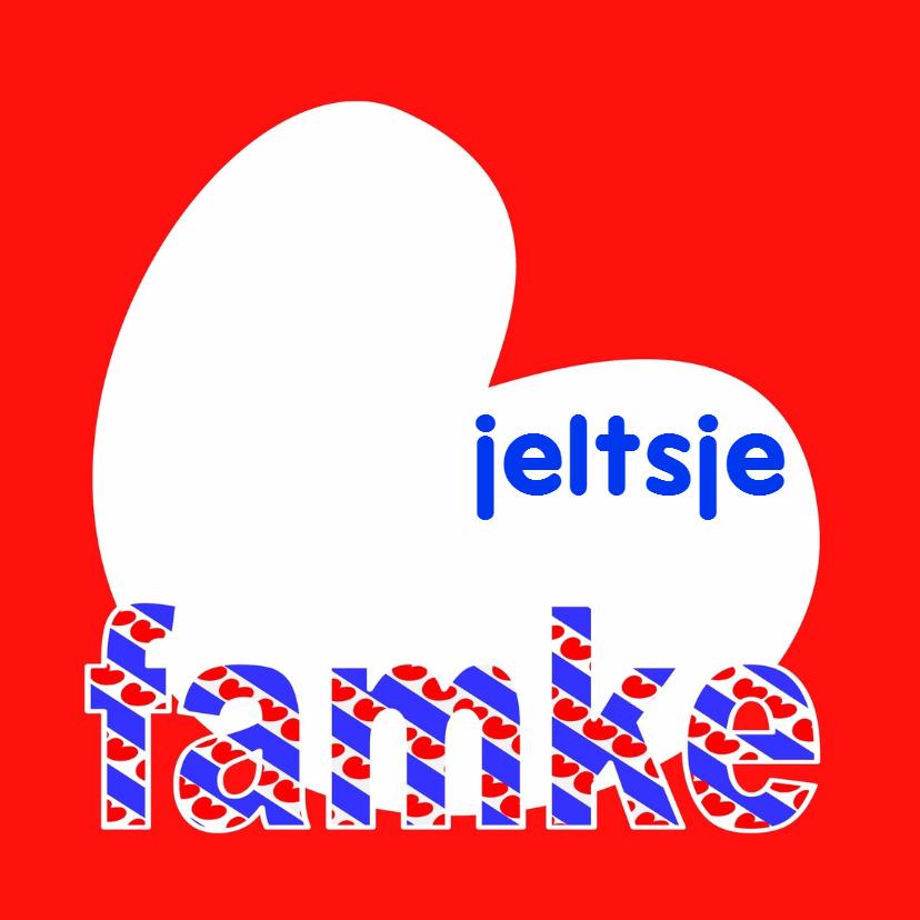 Fryske kaartsjes - Famke Jeltsje - AW