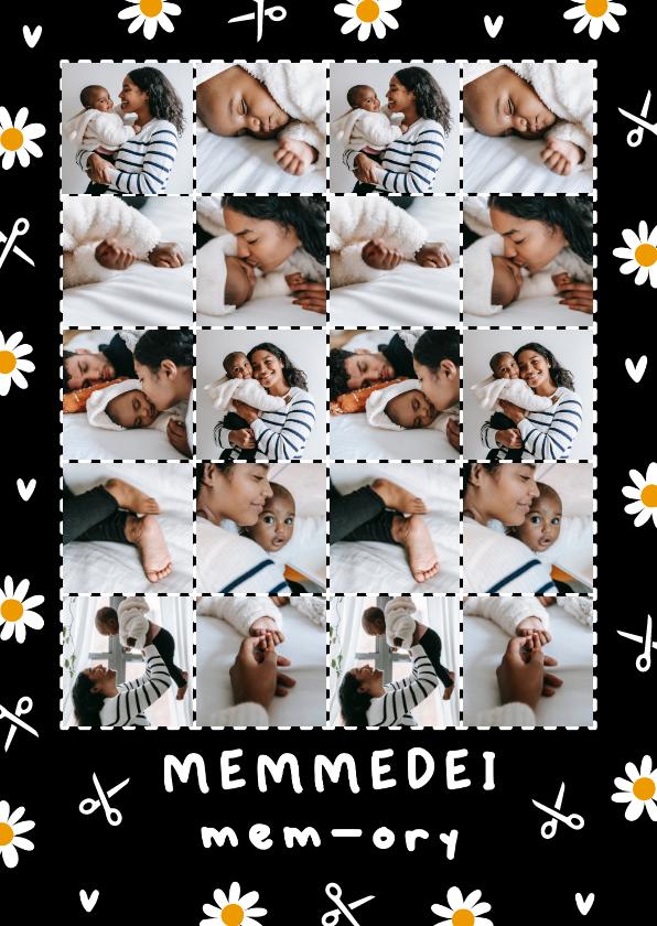 Fryske kaartsjes - Friese moederdagkaart memmedei mem-ory