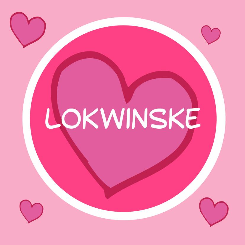 Fryske kaartsjes - Hertlik Lokwinske