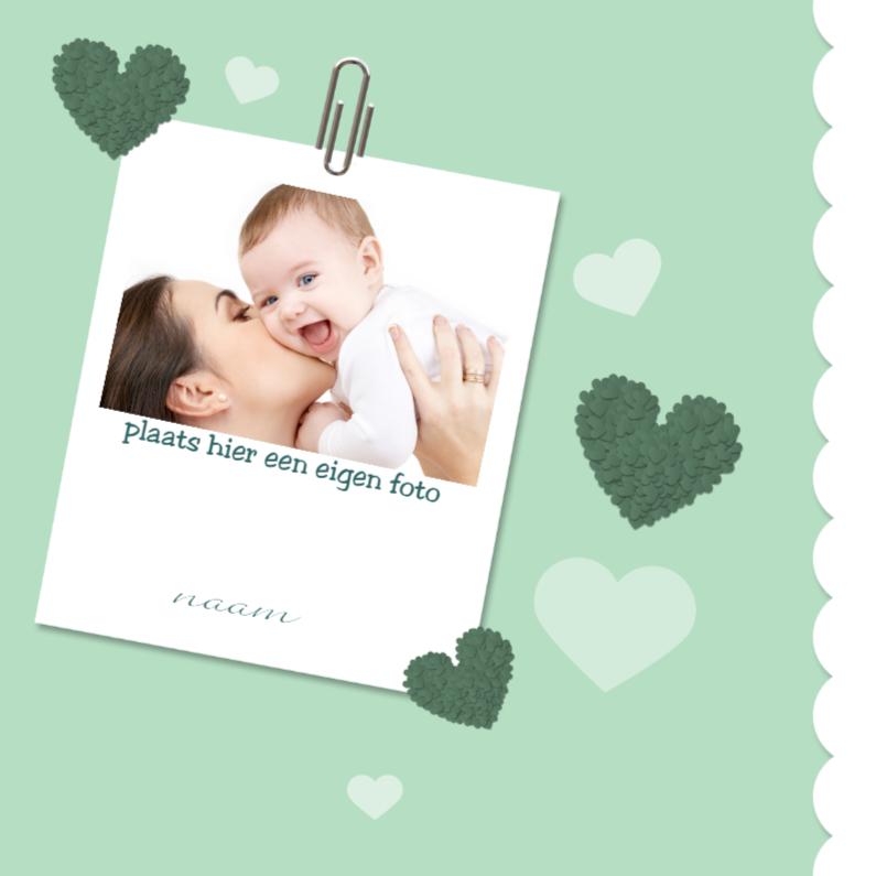 Geboortekaartjes - baby foto