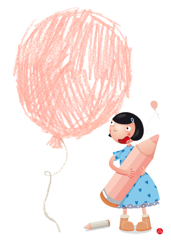 Geboortekaartjes - Balonnetje