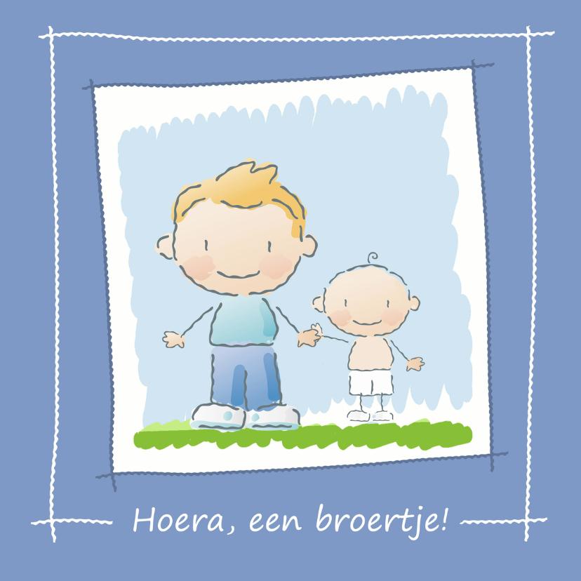 Geboortekaartjes - Broer krijgt broertje